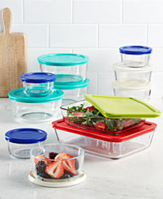 Pyrex 22 Piece Food Storage Container Set, Created