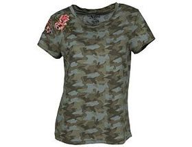 Natural Reflections® Women's Embroidered Flower Ca