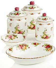 Royal Albert Old Country Roses Serveware Collectio
