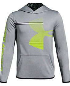 Under Armour Big Boys Armour Fleece Logo-Print Hoo