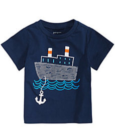 First Impressions Toddler Boys Boat-Print T-Shirt,