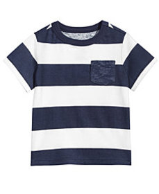 First Impressions Toddler Boys Striped Cotton Rugb