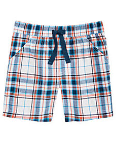 First Impressions Toddler Boys Cotton Plaid Shorts