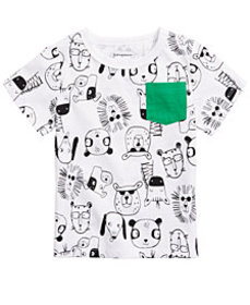 First Impressions Toddler Boys Animal-Print Pocket