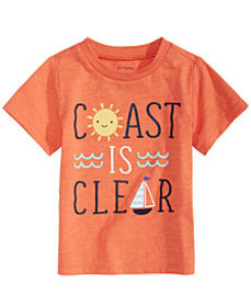 First Impressions Toddler Boys Coast-Print T-Shirt