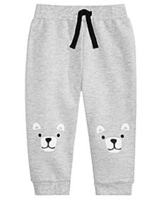 First Impressions Toddler Boys Bear Knees Jogger P