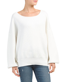 FREE PEOPLE Shadow Slouchy Pullover Sweater