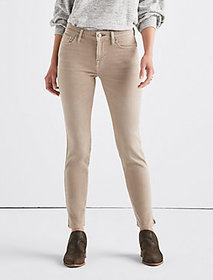 Lolita Mid Rise Skinny Jean With Vent