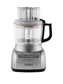KitchenAid 9-Cup Food Processor CONTOUR SILVER