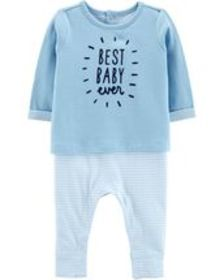 Baby Boy Best Baby Ever Coverall