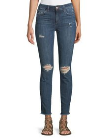 Joe's Jeans The Icon Fray-Hem Ankle Jeans