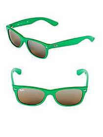 Ray-Ban 52MM New Wayfarer Sunglasses GREEN