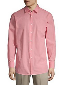 HUGO Michael Button-Down Shirt RED