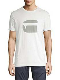 G-Star RAW Logo Short-Sleeve Tee WHITE