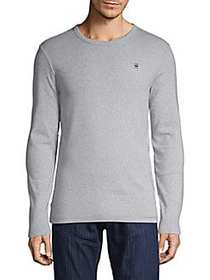G-Star RAW Dill Long Sleeve Cotton Tee GREY