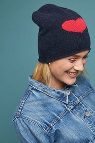 Heart to Heart Cashmere Beanie