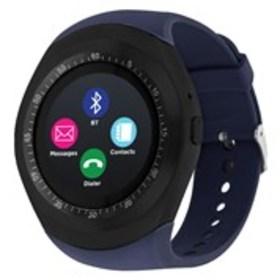 I-TOUCH iTouch Curve Black Smart Watch with Navy R