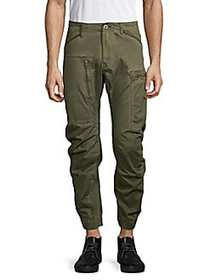 G-Star RAW Powel 3D Tapered Cuffed Pants SHAMROCK