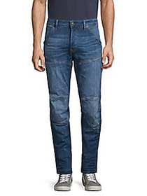 G-Star RAW Knee-Patch Straight Jeans MEDIUM INDIGO