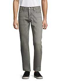 Tom Ford Classic Straight-Fit Jeans GREY
