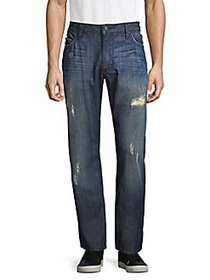 Robin's Jean Long British Flag Relaxed-Fit Jeans D