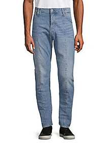 G-Star RAW Straight Tapered-Leg Jeans LIGHT AGED