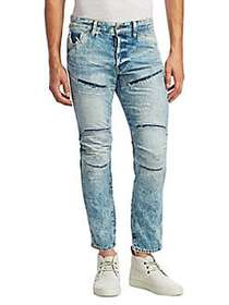 G-Star RAW 5620 3D Distressed Skinny Jeans LIGHT A