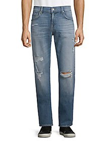 7 For All Mankind Classic Stretch Straight Fit Jea