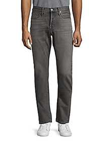 Tom Ford Washed Slim Cotton Jeans GREY