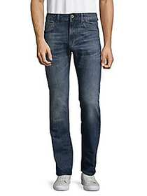 G-Star RAW Deconstructed Cotton Jeans BLUE