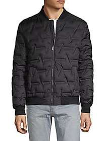 Karl Lagerfeld Classic Quilted Down Jacket BLACK
