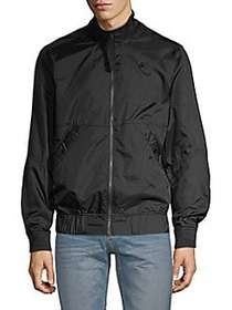 G-Star RAW Mockneck Full-Zip Jacket BLACK