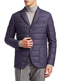 Saks Fifth Avenue Collection COLLECTION Quilted Wo