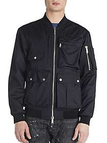 Viktor&Rolf Multi Pocket Bomber Jacket NAVY