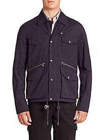 Saks Fifth Avenue MODERN Hunting Jacket NAVY