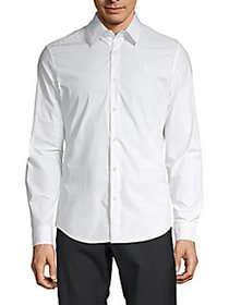 G-Star RAW Classic Stretch Button-Down Shirt WHITE