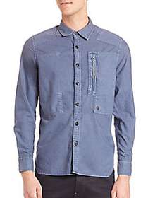 G-Star RAW Powel Multi-Stich Button-Down Shirt LIG