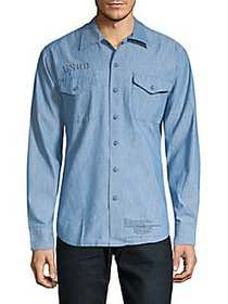 G-Star RAW Raw Utility Button-Down Shirt LIGHT AGE