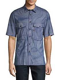 G-Star RAW Type C Printed Shirt BLUE