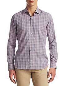 Saks Fifth Avenue COLLECTION Twill Cotton Button-D