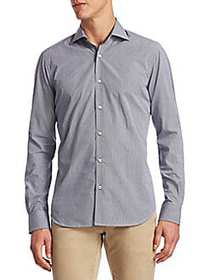 Saks Fifth Avenue COLLECTION Cotton Button-Down Sh