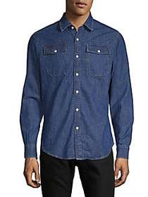 G-Star RAW Slim Cotton Button-Down Shirt MEDIUM AG