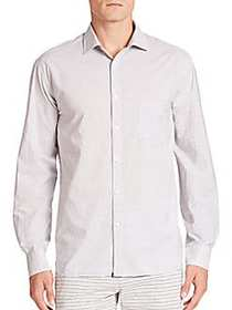 G-Star RAW Long Sleeve Striped Button-Down Shirt I