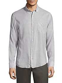 G-Star RAW Regular-Fit Kirby Shirt BLUE WHITE