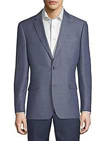 Tommy Hilfiger Classic Wool Sportcoat BLUE MIX