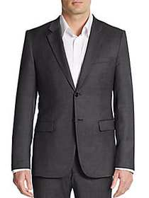 Theory Regular-Fit Wool Sportcoat CHARCOAL