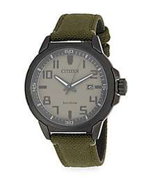 Citizen Stainless Steel Strap Watch OLIVE