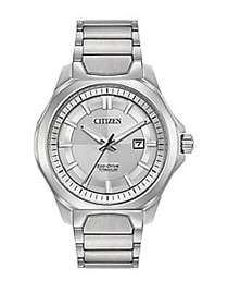 Citizen Ti+IP Eco-Drive Titanium Analog Tonal Dial