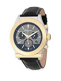 Salvatore Ferragamo Stainless Steel Chronograph Le