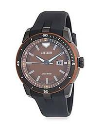 Citizen AW1476-18X 47MM Stainless Steel Watch BLAC